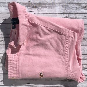 Men's Ralph Lauren Pink Custom Fit Sz M